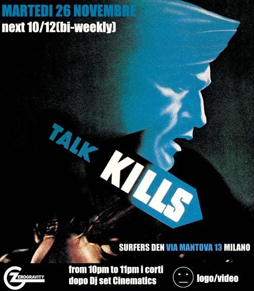 Talk kills surfer 39 s den milano for Surfer s den milano