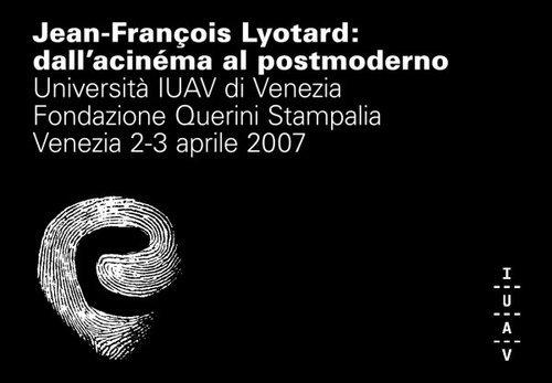 Jean francois lyotard fondazione querini stampalia iuav for Design postmoderno