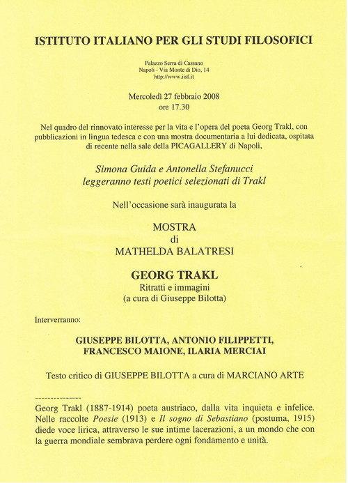 Istituto italiano per gli studi filosofici for Istituto italiano