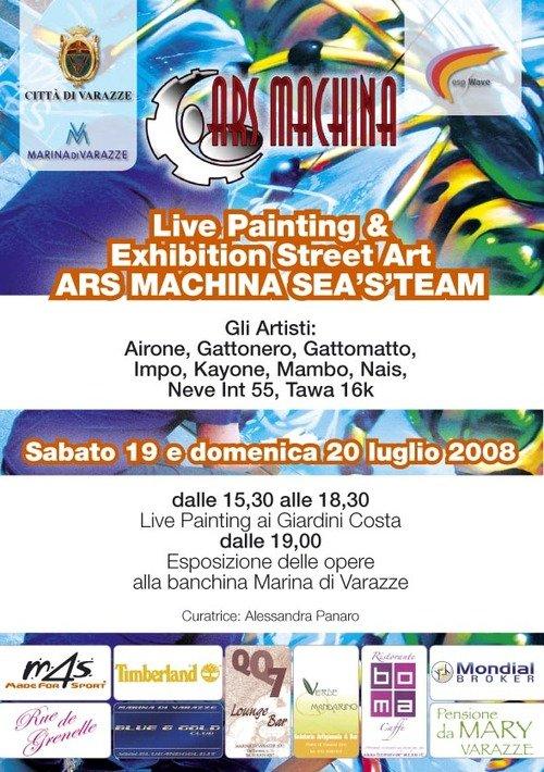 Art Machina Seasteam Palazzo Beato Jacopo Varazze Sv