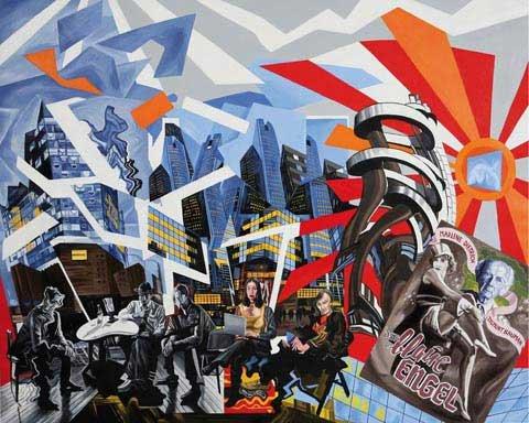 Walter bortolossi antonio battaglia arte contemporanea milano for Battaglia di milano