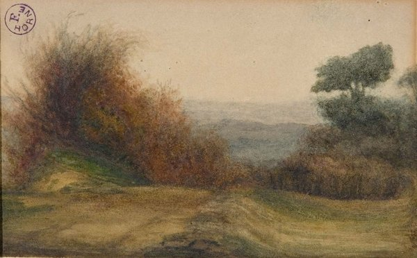 Il paesaggio disegnato museo della fondazione horne firenze for Disegni di cabina di campagna