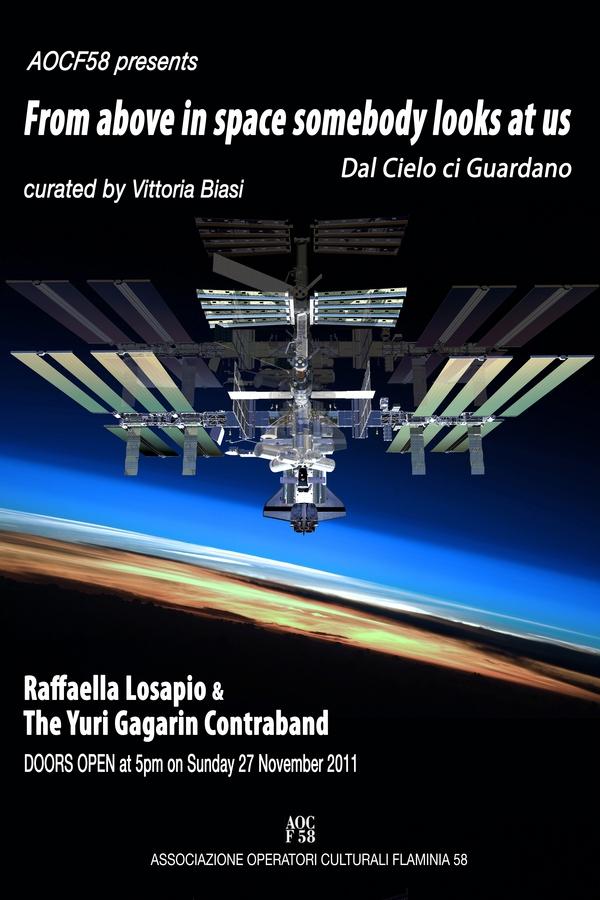 Raffaella losapio e benjamin shilling associazione aocf58 for Le navicelle spaziali