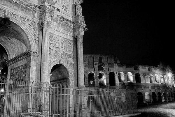 Due mostre gelateria splash roma for Roma in bianco e nero