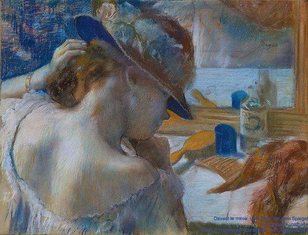 Edgar degas fondation beyeler basel - Cavalli allo specchio ...
