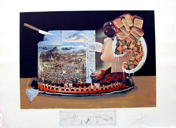 Salvador dali pisacane arte milano opere tratte da les diners de gala libro di cucina scritto da dali nel 1971 nel quale lartista si diverte a riproporre le ricette dellamata moglie thecheapjerseys Choice Image