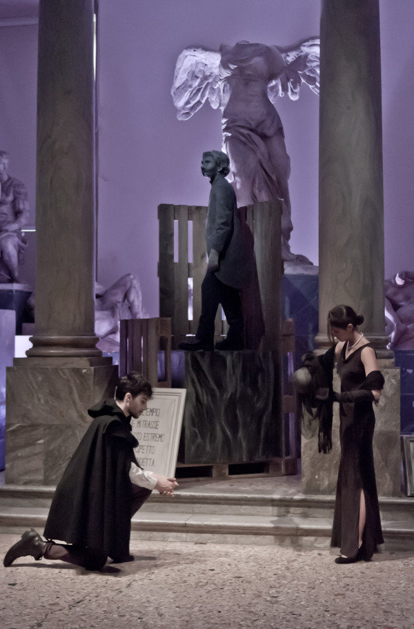 Il convitato di pietra accademia di belle arti di brera milano for Belle arti milano brera