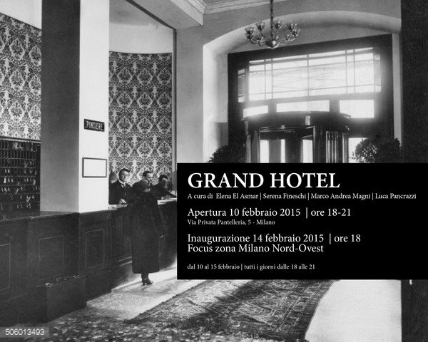 Grand hotel for Hotel serena milano