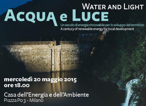 Acqua e luce casa dell 39 energia aem milano - Casa dell ottone milano ...
